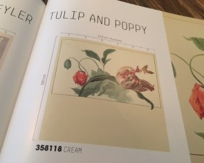Eijffinger Masterpiece (358118 - Tulip and Poppy cream)