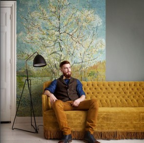 BN Wallcoverings - Voca van Gogh (30541 De Roze Perzikboom)