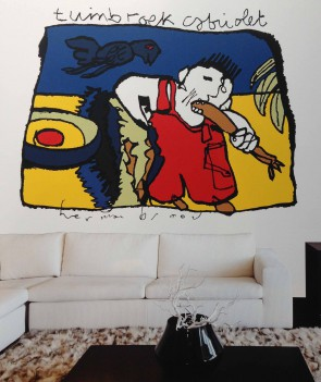 Noordwand Herman Brood (HB1001)