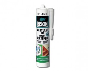 Bison Acrylaatkit 310 ml wit