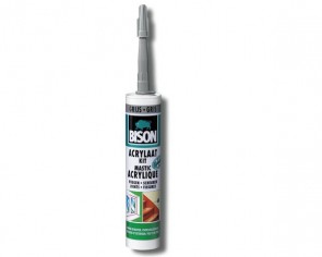 Bison Acrylaatkit 310 ml grijs