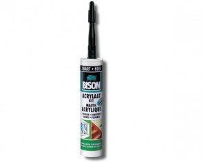 Bison Acrylaatkit 310 ml zwart