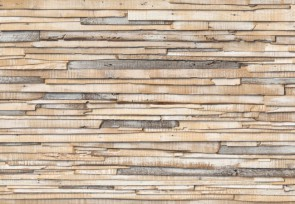 Noordwand Komar Wood & Stones  (8NW-920 Whitewashed Wood) - Vlies